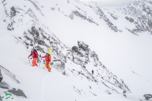 Einfach nur ein schönes Farbspiel. - Skitouren Sellrain
