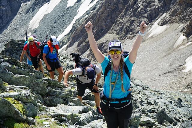 Gipfel der Tulpspitze erreicht.