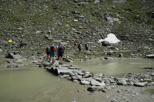 weg zur Eiseehütte in Osttirol.