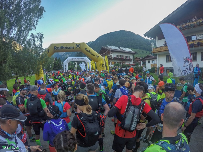 Start vorm Kalser Tauern Trail