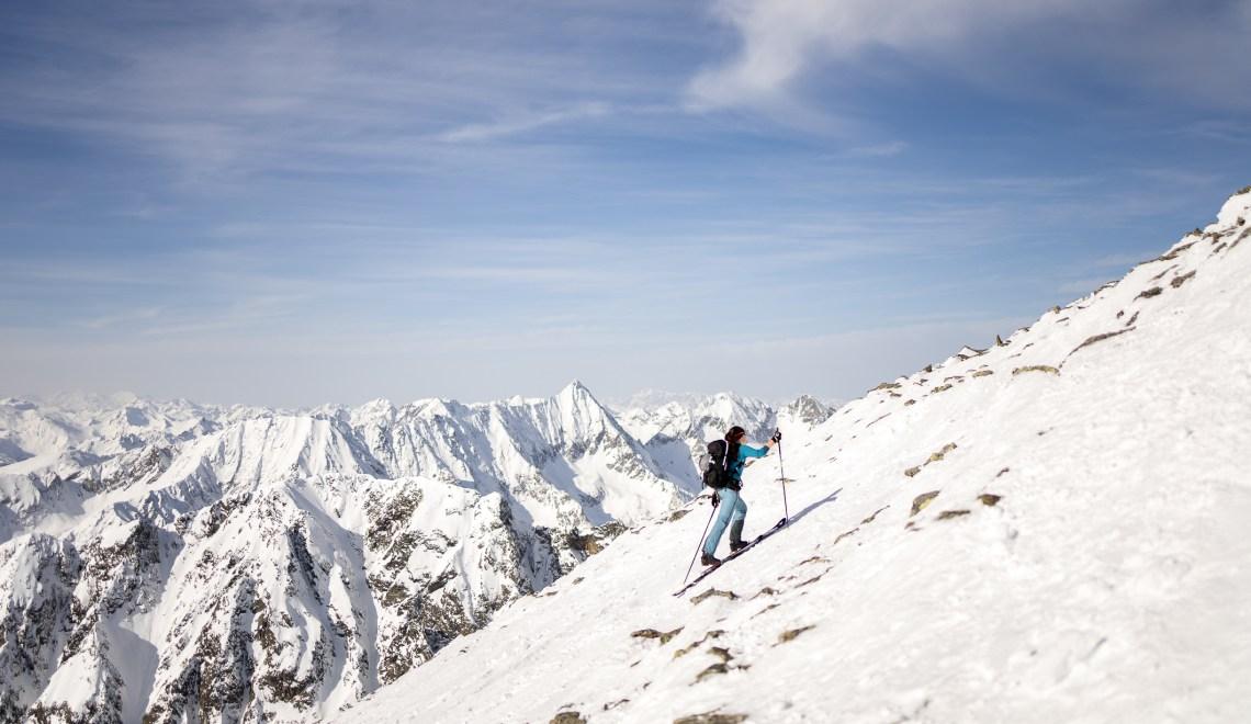 Preber (2740m): Ein Tourenskiberg wie aus dem Märchenbuch