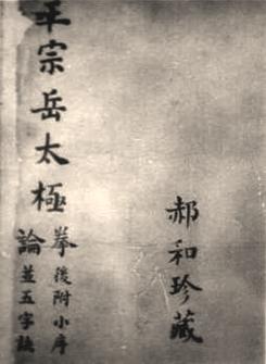 Li-Familie Exemplar vom Taichi Manual