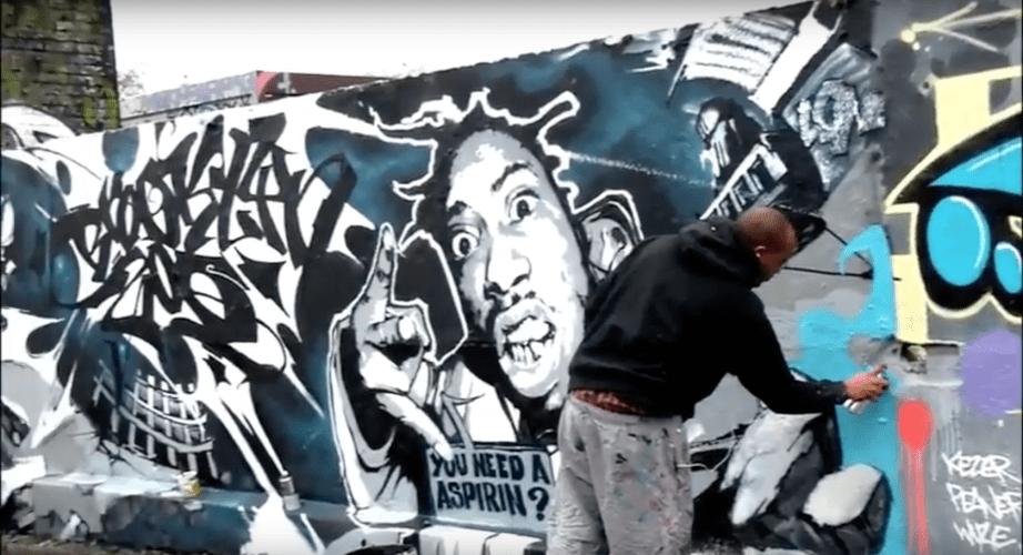 Brooklyn Zoo Graffiti