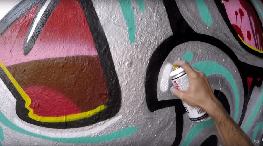 Graffiti – Rake43 – Metal & Colors