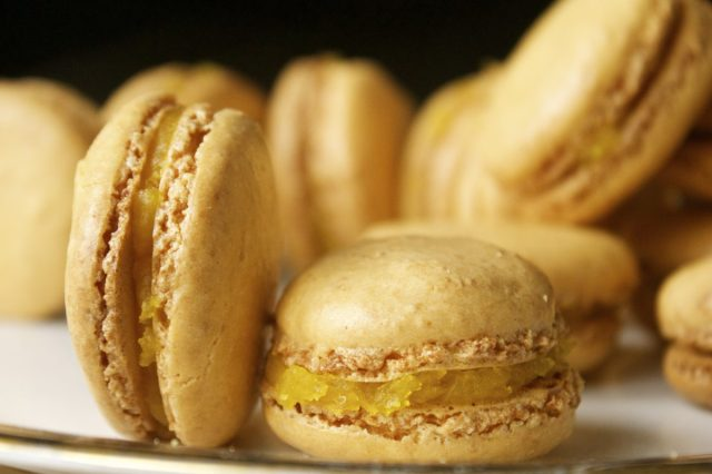 macaron, french, gluten, free, macaroons, history, of, lemon, yellow, curd, lemony, afternoon, tea, paris, italy, italian, easy, recipe,