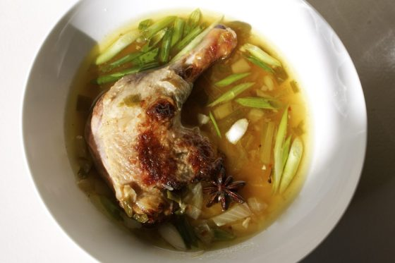 Slow Cooked Duck, with Honey, and ,Chilli, gluten free, recipe, easy, autumn, blog