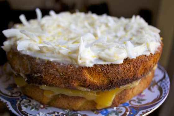 Gluten Free, Nut Free, Chiffon Cake, Lemon, Coconut