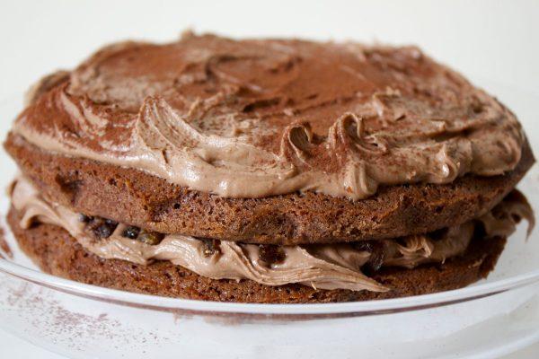Gluten Free, Chocolate Cake, Nutella Icing