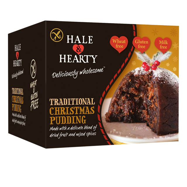 Hale and Hearty Gluten Free, Christmas Pudding,