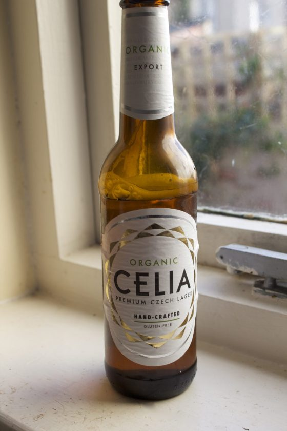 Celia lager, gluten free, beer,