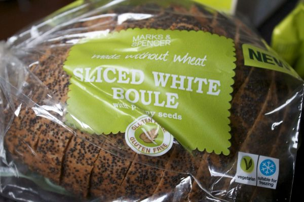 Gluten Free, Sliced Boule, Marks and Spencers