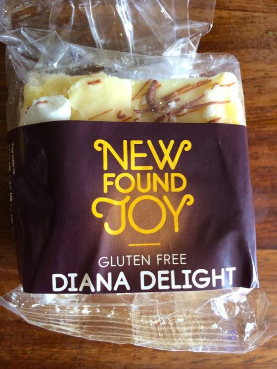 Gluten Free, diana delight. slice, New Found Joy