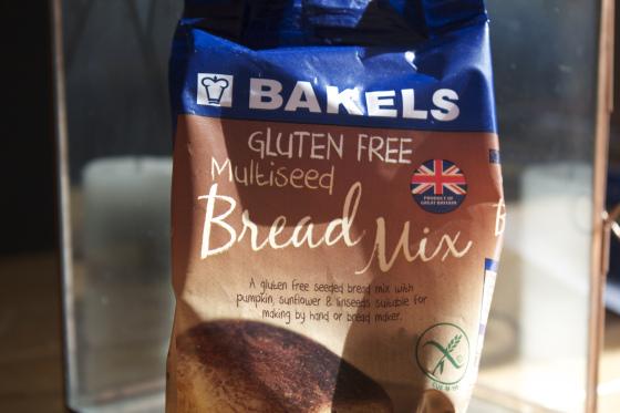 Bakels, gluten free, bread mix, review