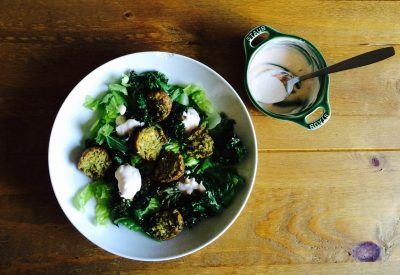 Gluten Free, Falafel , Crispy, Kale, Salad, Paprika, Sour Cream, Chive, Dressing, lifestyle blog uk, lifestyle, lifestyle blog, gluten free blog, gluten free blogger uk, gluten free recipes,