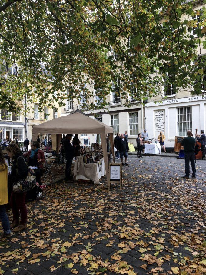 bath, visit bath, autumn, independent, market