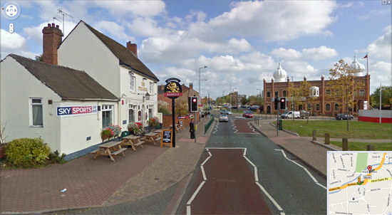 Wednesfield - Google Street View
