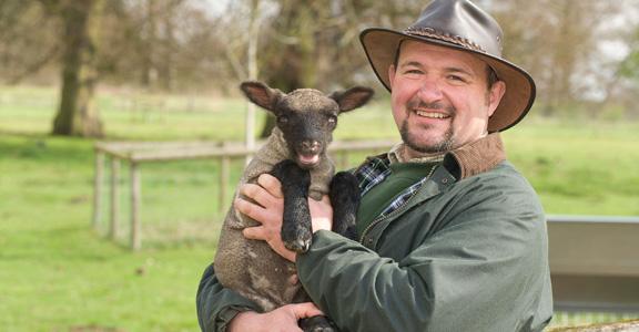 Northycote Farm manager Ian Nicholls