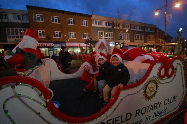 Wednesfield Rotary Santa Sleigh