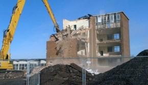 Jennie Lee Wards Bridge Demolition by Maureen