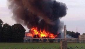 Lakefield Road Wednesfield High Fire