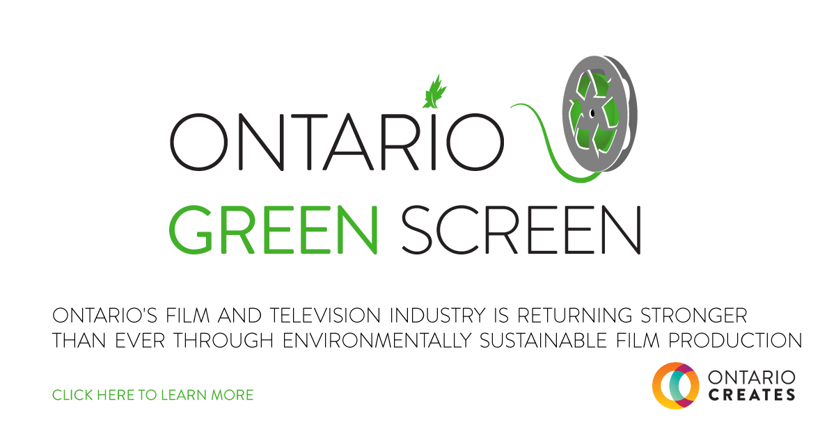 Ontario Green Screen Launches
