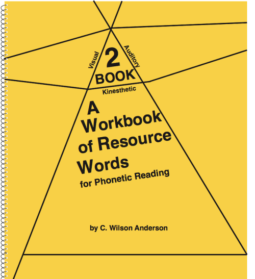 Workbooks of Resource Words for Phonetic Reading – Books 1, 2, & 3