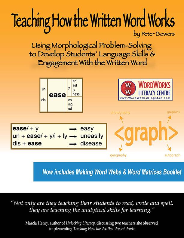 Teaching How Written Word