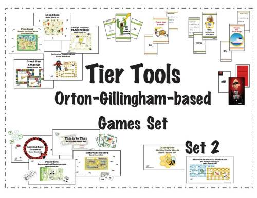 Tier Tools O-G Game Set 2 by Wendy Stacy