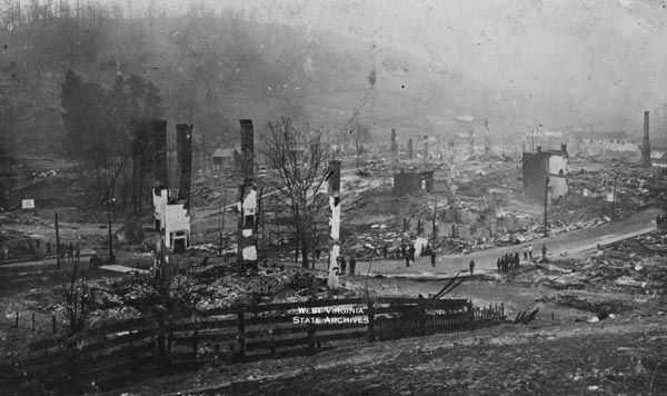 Mount Hope After Fire of March 24, 1910