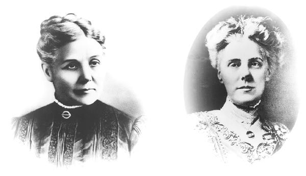 Anna Reeves Jarvis and her Daughter Anna