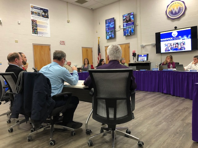 Warwick School Board Meeting