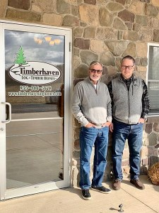 Fred & Mike at Timberhaven
