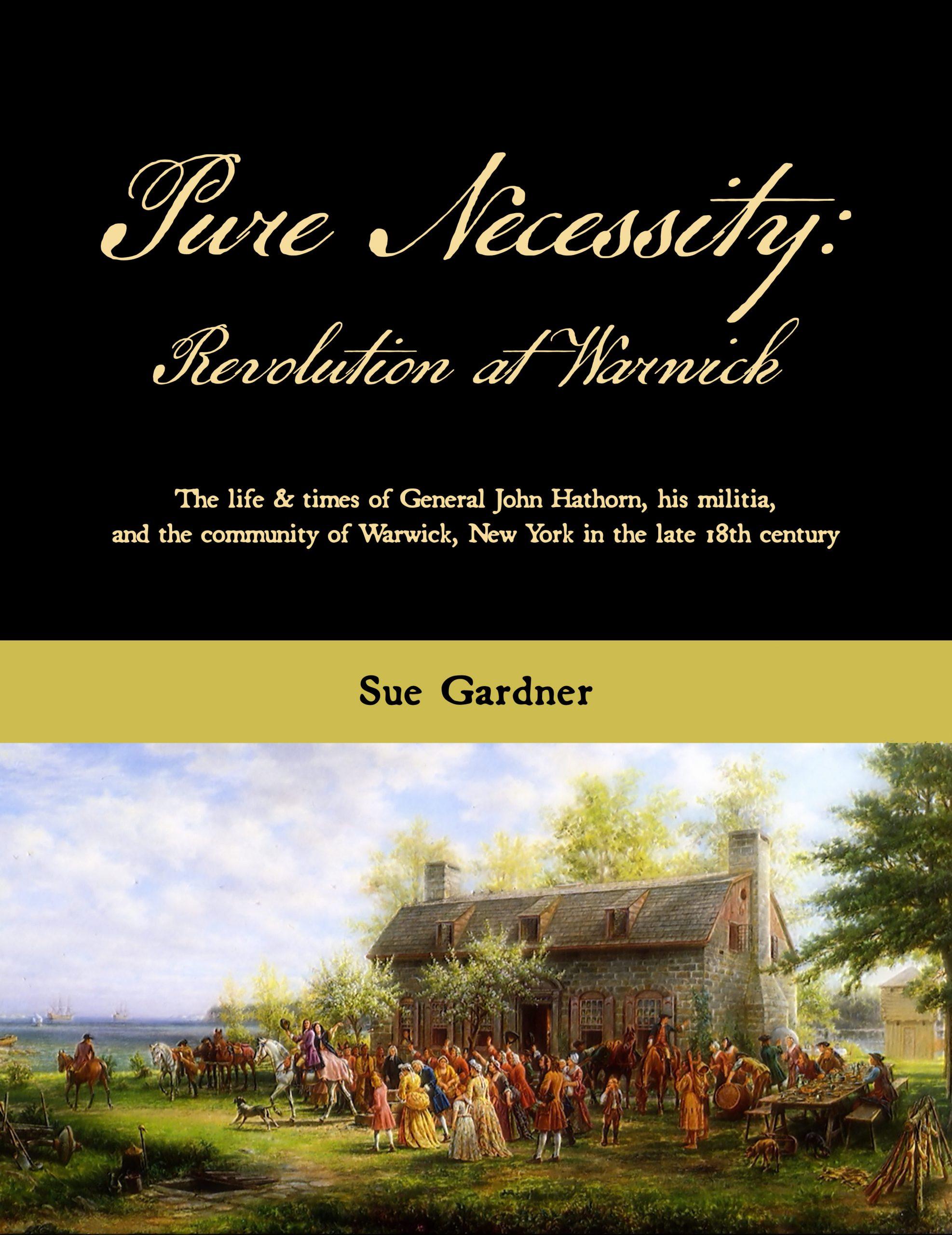 Sue Gardner Pure Necessity cover