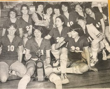 Warwick Girls Basketball State Champ Pic 1982