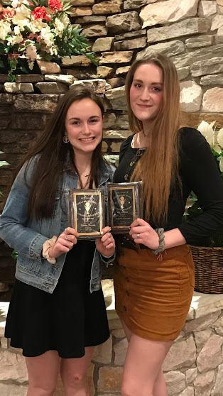 Kristen Desrats & Isabella Astorino were selected by the Section IX Basketball Coaches as New York's Top 50.
