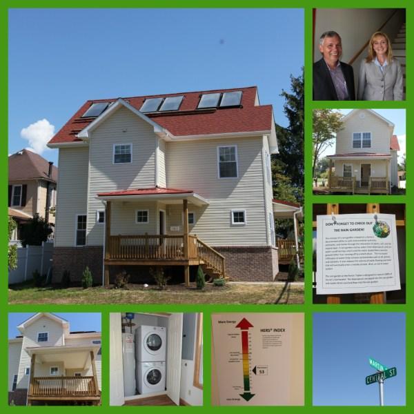 The Porter Triplex, West Virginia Housing Development Fund, LEED, Elkins, Erica Boggess, Green Building