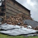 Bourbon Warehouse Collapsees