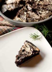 Dark Chocolate Cheesecake Brownies