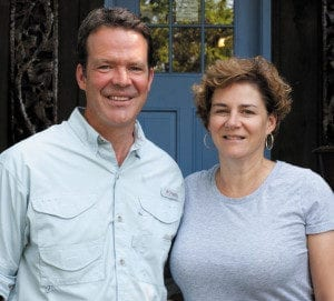 Nancy Bruns and Lewis Payne