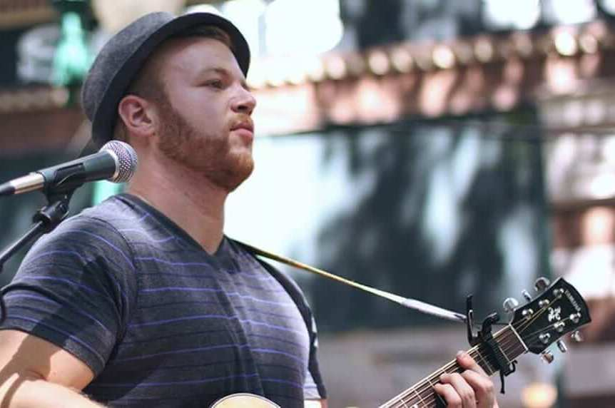 Matthew Marks, guitarist for the band The Company Stores