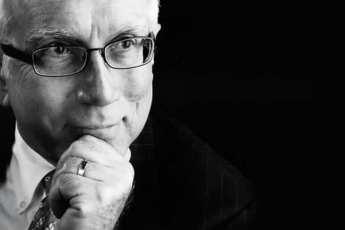 Black and white photo of chief economist Tom S. Witt