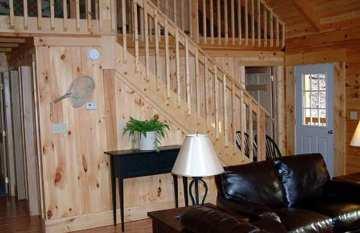 Log Cabin Interior Design Stairs | Interior Design Images