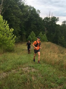 Runners on the Kanawha Trace Trail
