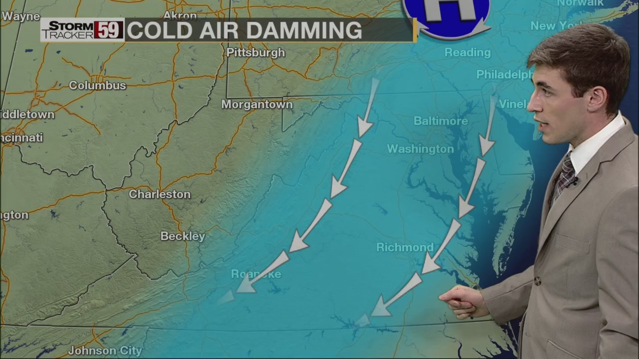 Weather 101: How does cold air damming work?