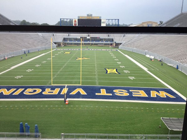 View from Touchdown Terrace