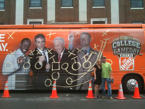 College GameDay last visited Morgantown in 2011 when WVU played LSU and lost 47-21.