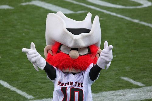 Raider Red mascot