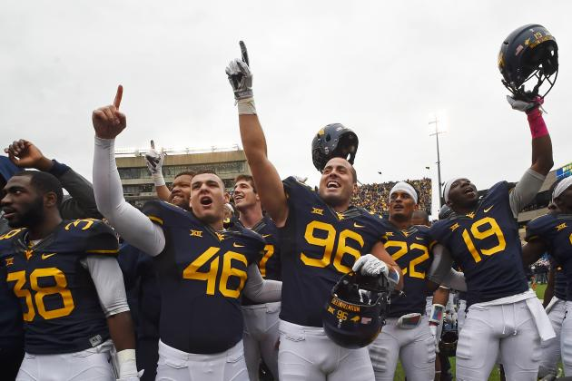WVU upsets #4 Baylor, 41-27 (Photo credit: USA Today Sports)