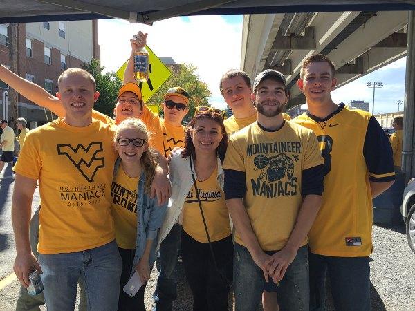 WVU students