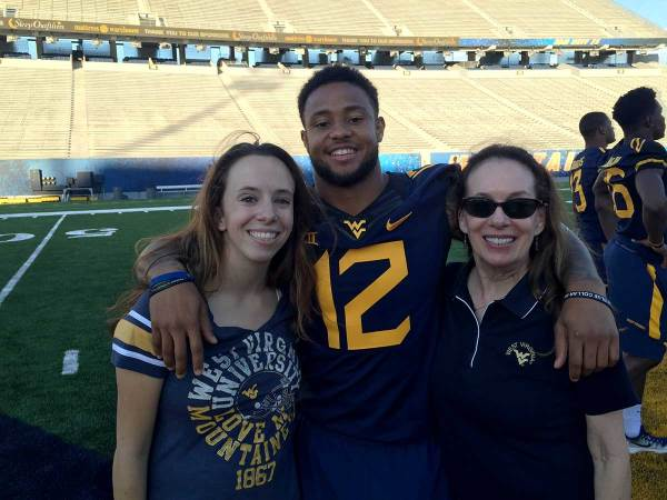 WVU Football Players School the Ladies in Gridiron Basics